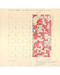 Allotment Map of Township 1 : South 2 of... by Department of the Interior Office of Indian Affair...