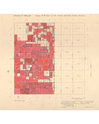 Allotment Map of Township 3 : South 1 of... by Department of the Interior Office of Indian Affair...