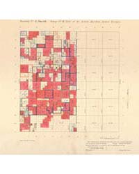 Allotment Map of Township 4 : North 1 of... by Department of the Interior Office of Indian Affair...