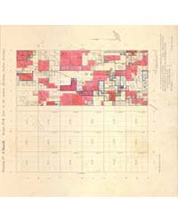 Allotment Map of Township 4 : South 2 of... by Department of the Interior Office of Indian Affair...