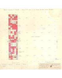 Allotment Map of Part of Township 7 : No... by Department of the Interior Office of Indian Affair...