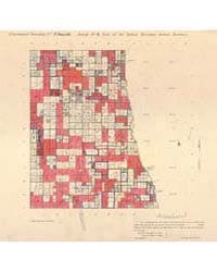 Allotment Map of Fractional Township 7 :... by Department of the Interior Office of Indian Affair...