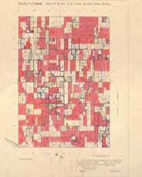 Allotment Map of Township 5 : South of R... by Department of the Interior Office of Indian Affair...