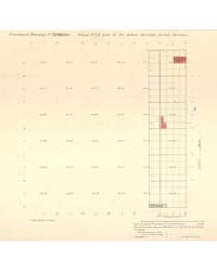 Allotment Map of Fractional Township 20 ... by Department of the Interior Office of Indian Affair...