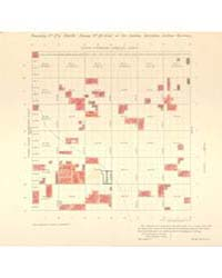 Allotment Map of Township 24 : North of ... by Department of the Interior Office of Indian Affair...
