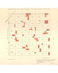 Allotment Map of Township 26 : North 2 o... by Department of the Interior Office of Indian Affair...