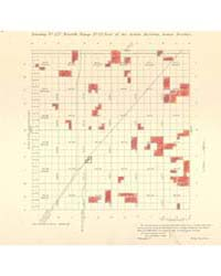 Allotment Map of Township 27 : North 2 o... by Department of the Interior Office of Indian Affair...