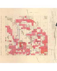 Allotment Map of Township 1 : North of R... by Department of the Interior Office of Indian Affair...