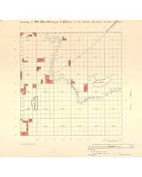 Allotment Map of Township 20 : North of ... by Department of the Interior Office of Indian Affair...