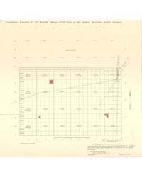 Allotment Map of Fractional Township 29 ... by Department of the Interior Office of Indian Affair...