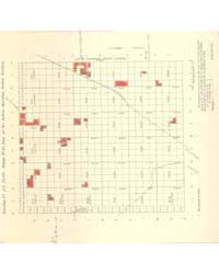 Allotment Map of Township 22 : North of ... by Department of the Interior Office of Indian Affair...