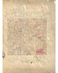 Allotment Map of Township 26 : North 1 o... by Department of the Interior Office of Indian Affair...