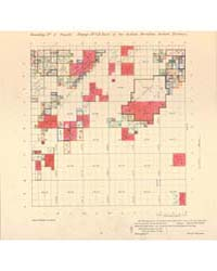 Allotment Map of Township 1 : South of R... by Department of the Interior Office of Indian Affair...