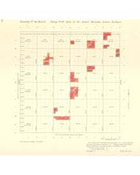 Allotment Map of Township 21 : North of ... by Department of the Interior Office of Indian Affair...