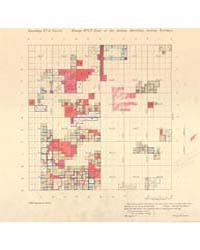 Allotment Map of Township 3 : North of R... by Department of the Interior Office of Indian Affair...