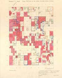 Allotment Map of Township 4 : South of R... by Department of the Interior Office of Indian Affair...