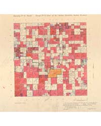 Allotment Map of Township 6 : South of R... by Department of the Interior Office of Indian Affair...