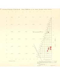 Allotment Map of Part of Township 14 : N... by Department of the Interior Office of Indian Affair...