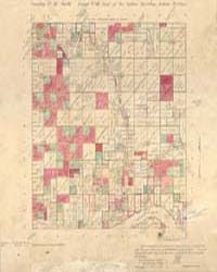 Allotment Map of Township 16 : North of ... by Department of the Interior Office of Indian Affair...