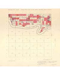 Allotment Map of Township 8 : South of R... by Department of the Interior Office of Indian Affair...