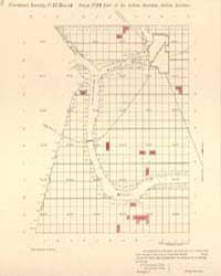 Allotment Map of Fractional Township 15 ... by Department of the Interior Office of Indian Affair...