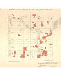 Allotment Map of Township 19 : North of ... by Department of the Interior Office of Indian Affair...