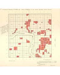 Allotment Map of Fractional Township 13 ... by Department of the Interior Office of Indian Affair...