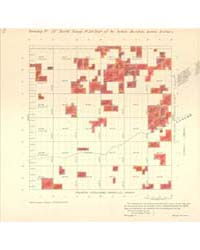 Allotment Map of Township 17 : North of ... by Department of the Interior Office of Indian Affair...