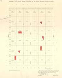 Allotment Map of Township 27 : North of ... by Department of the Interior Office of Indian Affair...