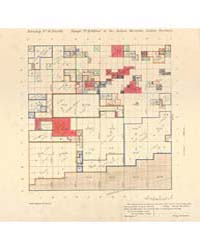 Allotment Map of Township 6 : North of R... by Department of the Interior Office of Indian Affair...