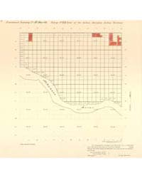 Allotment Map of Fractional Township 11 ... by Department of the Interior Office of Indian Affair...