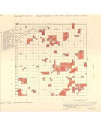 Allotment Map of Township 23 : North of ... by Department of the Interior Office of Indian Affair...