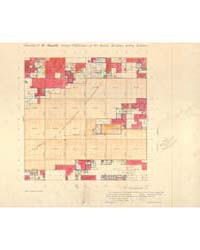 Allotment Map of Township 8 : North of R... by Department of the Interior Office of Indian Affair...