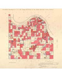 Allotment Map of Fractional Township 10 ... by Department of the Interior Office of Indian Affair...