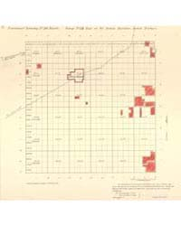 Allotment Map of Fractional Township 26 ... by Department of the Interior Office of Indian Affair...