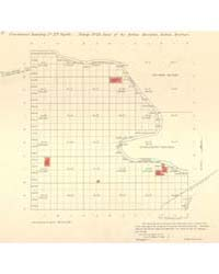 Allotment Map of Fractional Township 27 ... by Department of the Interior Office of Indian Affair...