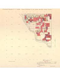 Allotment Map of Fractional Township 9 :... by Department of the Interior Office of Indian Affair...