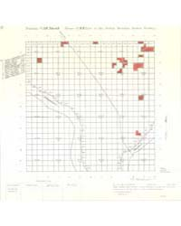 Allotment Map of Township 10 : North 2 o... by Department of the Interior Office of Indian Affair...