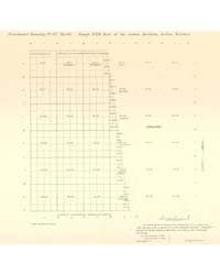 Allotment Map of Fractional Township 17 ... by Department of the Interior Office of Indian Affair...