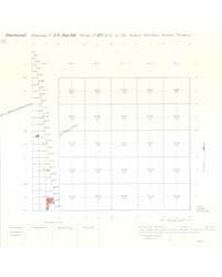 Allotment Map of Fractional Township 14 ... by Department of the Interior Office of Indian Affair...