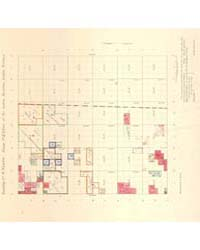 Allotment Map of Township 4 : North of R... by Department of the Interior Office of Indian Affair...