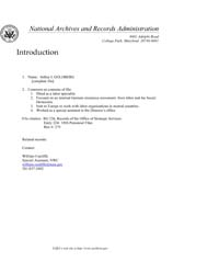 Americas National Archives Journals : Go... by Americas National Archives