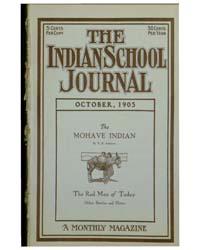 Indian School Journal : Volume 5 ; Octob... by Indian School Journal