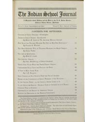 Indian School Journal : Volume 16 ; 1915 by Indian School Journal