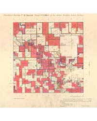 Allotment Map of Fractional Township 2 :... by Department of the Interior Office of Indian Affair...