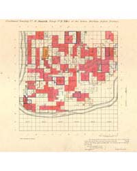 Allotment Map of Fractional Township 8 :... by Department of the Interior Office of Indian Affair...