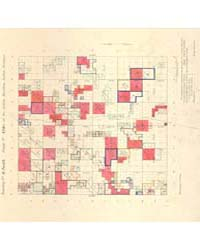Allotment Map of Township 2 : South of R... by Department of the Interior Office of Indian Affair...