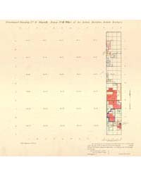 Allotment Map of Fractional Township 4 :... by Department of the Interior Office of Indian Affair...