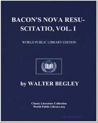 Cas Fernando Pessoa : Bacon's Nova Resus... by Begley, Walter