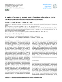 A Review of Sea-spray Aerosol Source Fun... by Grythe, H.